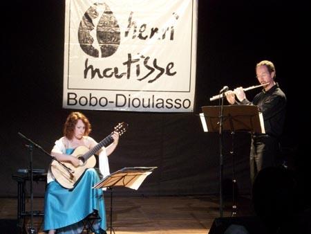 Duo Piazzolla, Centre Henri-Matisse, Burkina Faso